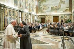 Madre Ivone e Papa
